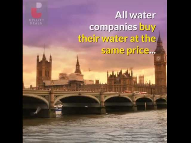 Cheapest deals for business water